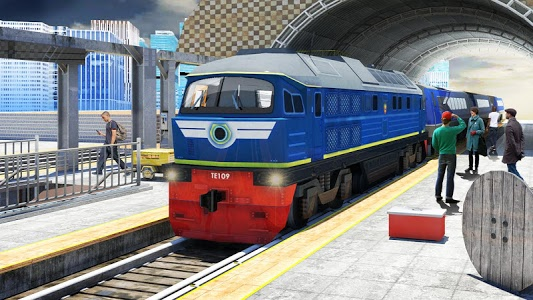 screenshot of Train Driving Free -Train Games version Varies with device