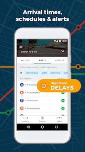 screenshot of Moovit: Bus Time & Train Time Live Info version 5.19.0.355