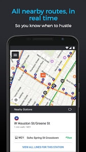 screenshot of Moovit: Bus & Train Live Info version 5.2.5.276