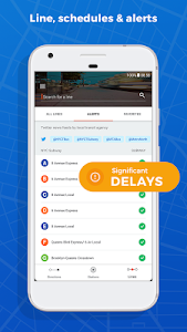 screenshot of Moovit: Bus & Train Live Info version 4.4.0.144