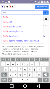 screenshot of Türkiye Milli Arama Motoru version 3.8.0.2.27