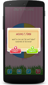 screenshot of Truth or Dare Questions - Spin the Bottle version 1.0.3