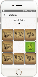 screenshot of TurfHunt version 8.1.1