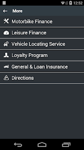 screenshot of uFinance version 4.0.0