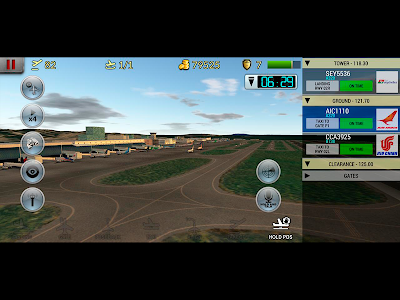 screenshot of Unmatched Air Traffic Control version 2019.22