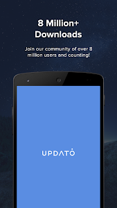 screenshot of Updates for Samsung & Android version 2.1