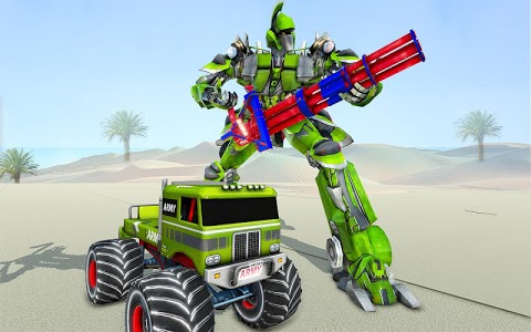 screenshot of Us Army Monster Truck Robot Transformation version 1.3