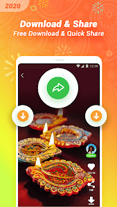 screenshot of VClip - Whatsapp Status & Royal Pass PBG version 1.15.1.11501