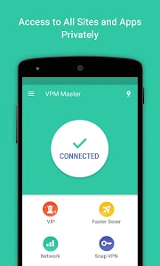 screenshot of VPN Proxy Master-Free security version 5.8.7