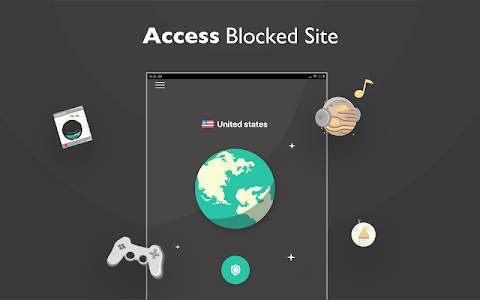 screenshot of VPN Proxy Master - free unblock VPN & security VPN version 1.3.6