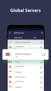 screenshot of VPN Proxy Master - free unblock VPN & security VPN version 1.7.4.1