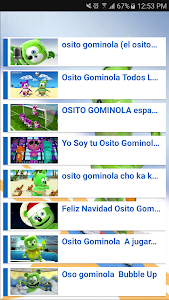screenshot of Videos del Osito Gominola version 2.0