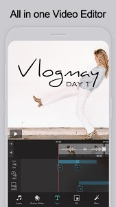screenshot of VLLO - Easy and Powerful Video editing app version 5.5.5