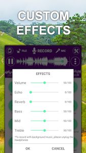 screenshot of Voice changer sound effects version 1.3.1