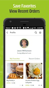 screenshot of Waitr—Food Delivery & Carryout version 2.3.11
