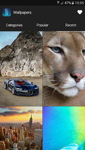 screenshot of Wallpapers for iPhone version 1.0.4