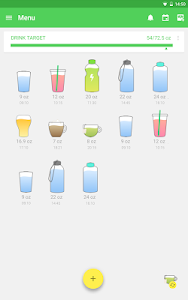 screenshot of Water Drink Reminder version Varies with device