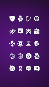 screenshot of Whicons - White Icon Pack version 10.0.3