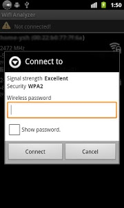 screenshot of Wifi Connecter Library version 2.0.3