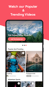 screenshot of Woovly - For Adventure & Travel Experiences version 2.0.4