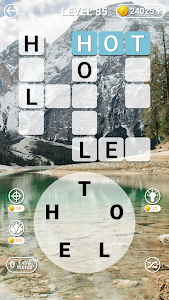 screenshot of Word Link Scramble: Find the Words Game Puzzle version 1.0