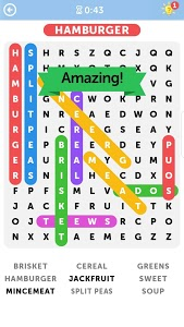screenshot of Word Search version Varies with device