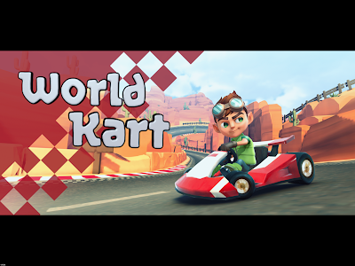screenshot of World Kart version 1.12.1