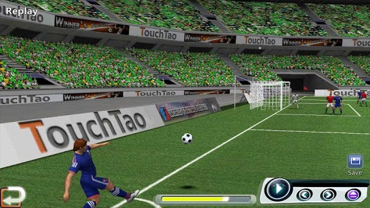 screenshot of World Soccer League version 1.9.7