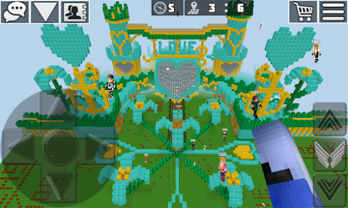 screenshot of WorldCraft : 3D Build & Craft version Varies with device