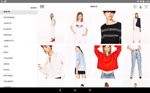 screenshot of Zara version 2.3.1