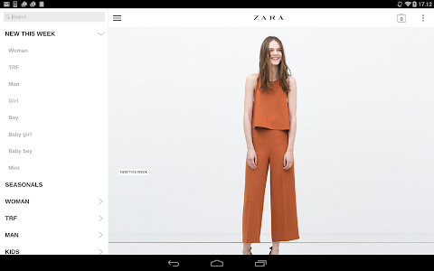screenshot of Zara version 1.18.2
