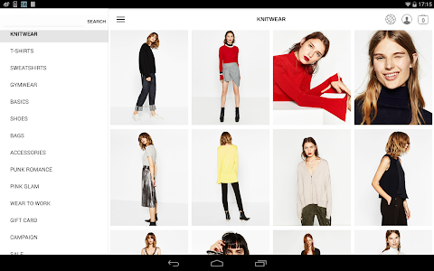 screenshot of Zara version 2.1.3