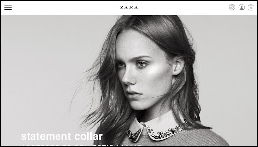 screenshot of Zara version 3.7.2