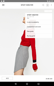 screenshot of Zara version 2.0.0