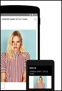 screenshot of Zara version 3.2.4