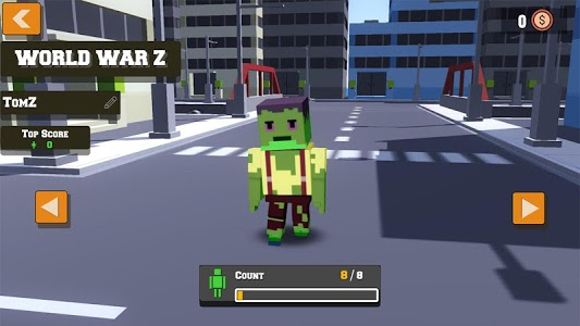 screenshot of Zombie War version 1.0.3