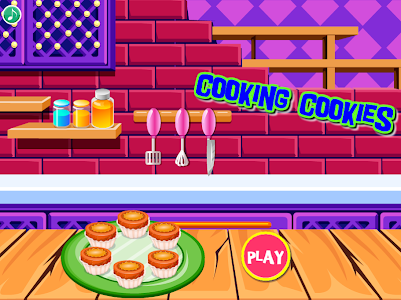 screenshot of cooking cookies : games for girls version 2.2.0