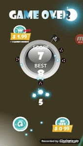 screenshot of dash in roll - Round the ball version 4