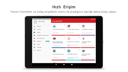screenshot of e-Devlet Kapısı version Varies with device