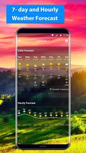 screenshot of free live weather on screen version 16.6.0.6206_50092