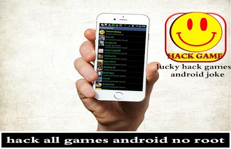screenshot of lucky hack games android prank version 2.0
