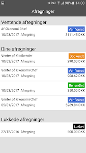screenshot of zExpense version 3.40.16